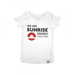 Damski t-shirt Inspire We are family - biały